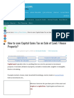 How to save CAPITAL GAINS TAX on sale of Plot_ Flat_House_.pdf