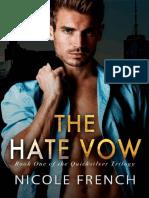 The Hate Vow (Quicksilver Book - Nicole French.epub