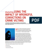 ADDRESSING THE IMPACT OF WRONGFUL CONVICTIONS ON CRIME VICTIMS