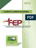 Calendario Competiciones 2011