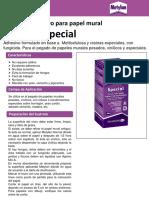 Metylan Special  TDS