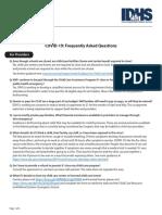 FAQ for Child Care Providers 3-15-20