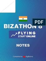Bizathon 8 Notes by Rito