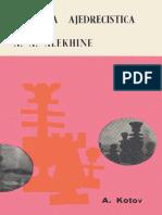 Kotov Alexander - Herencia Ajedrecistica de Alekhine-I, 1970-OCR, 208p