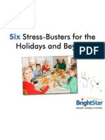 Six Stress-Busters for the Holidays and Beyond