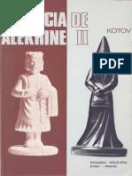 Kotov Alexander - Herencia Ajedrecistica de Alekhine-II, 1972-OCR, 232p.pdf