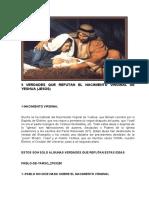 9 VERDADES QUE REFUTAN EL NACIMIENTO VIRGINAL DE YESHUA.docx