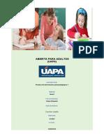 Tarea 1 de Practica de Intervencion Psicopedagogica 1