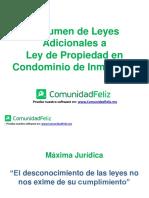 ComunidadFeliz - Leyes Adicionales a la Ley de Copropiedad
