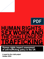 Human rights, sex work and the challenge of trafficking