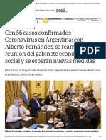 Clarín 16/03/2020