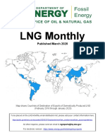 LNG Monthly marzo 2020