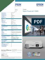 Folheto - Projetor - VS250.PDF