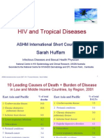 HIV Malaria+Tropical Diseases