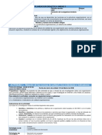 Planeación U3 Estructura Organizacional