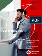 IP200 Installation User Guide