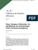 2005[RuiMPEREIRA]]Raça Sangue e Robustez_Os paradigmas da Antropologia Física colonial portuguesa .pdf