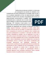 Educação de Jovens e Adultos, Fundamentos e Metodologia - Discursivas.pdf