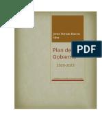 PLAN DE GOBIERNO JAVIER HERNÁN RINCON - LA ARGENTINA