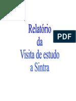 Relatório da visita de estudo a Sintra1-