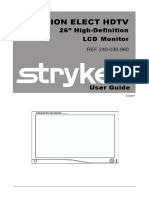 stryker-vision-elect-hd-user-manual