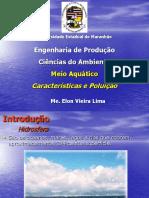 Meio Aquático característica e poluição