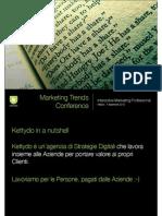 Presentazione Kettydo Marketing Forum