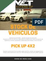 STOCK DE VEHICULOS