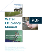 Water Efficiency Manual