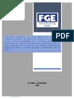 Auditoria ambiental de cumplimiento - Fiscalía - 2018