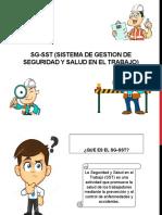 SG-SST (SISTEMA DE GESTION DE SEGURIDAD Y
