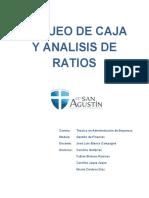 finanzas arqueo de caja y analisis de ratios