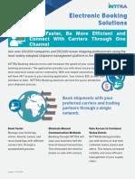 INTTRA Ocean Trade Platform Brochure