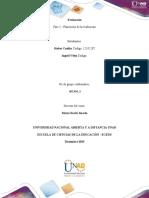 Fase 2 - Planeación de la evaluación Tc.