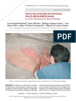 datacion de pinturas murales mesoamericanas