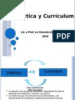 Diferencia entre didáctica y currículum
