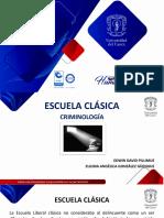 ESCUELA CLÁSICA-EXPOSICIÓN