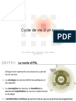 2- ITIL V3 - Cycle de Vie v1.23