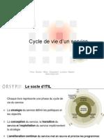 2- ITIL V3 - Cycle de Vie v1.23