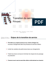 5- ITIL V3 - Transition Du Service v1.12
