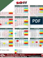 Calendario anual 2011_