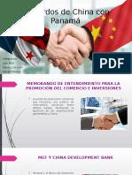 Acuerdos de China con Panamá