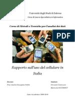 Rapporto sull'uso del cellulare in Italia