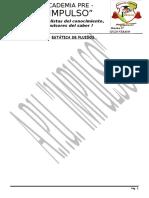 ESTÁTICA DE FLUIDOS (PRE)