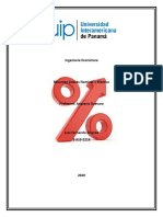 Resumen (Tasa de Interes Nominal y Efectiva) Luis Álvarez 8-919-2216