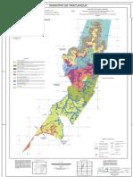 Mapa de solos Tracuateua