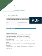 CONFIGURACION DEL PROCESO CONSTITUYENT EN VZLA.