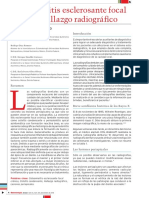 OSTEOMIELITIS FOCAL ESCLEROSANTE IMBIOMED 2016