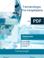 Farmacología-PreHospitalaria