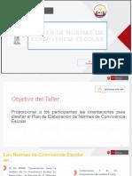 Taller Normas de Convivencia Escolar 2020 (2).pptx